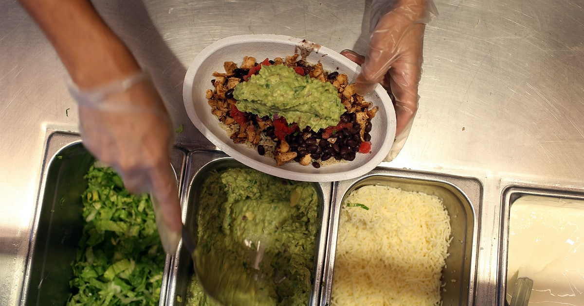 Chipotle Is Giving Free Guacamole With Any Entree Purchase On July 31 For National Avocado Day