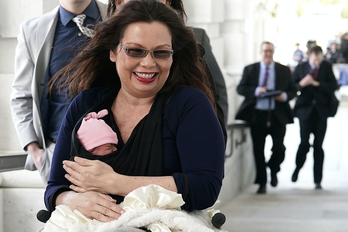 How Tammy Duckworth Set A Historic First For Moms In The Senate, In Her Own Words