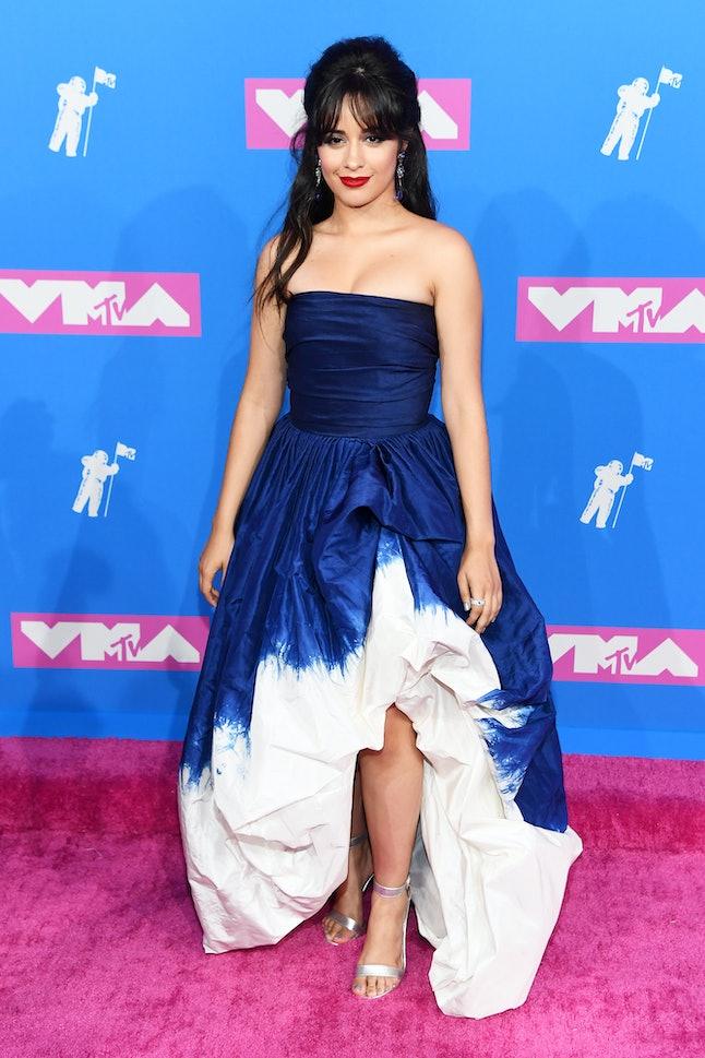 Camila Cabello S 2018 Vmas Dress Looked Like A Purple