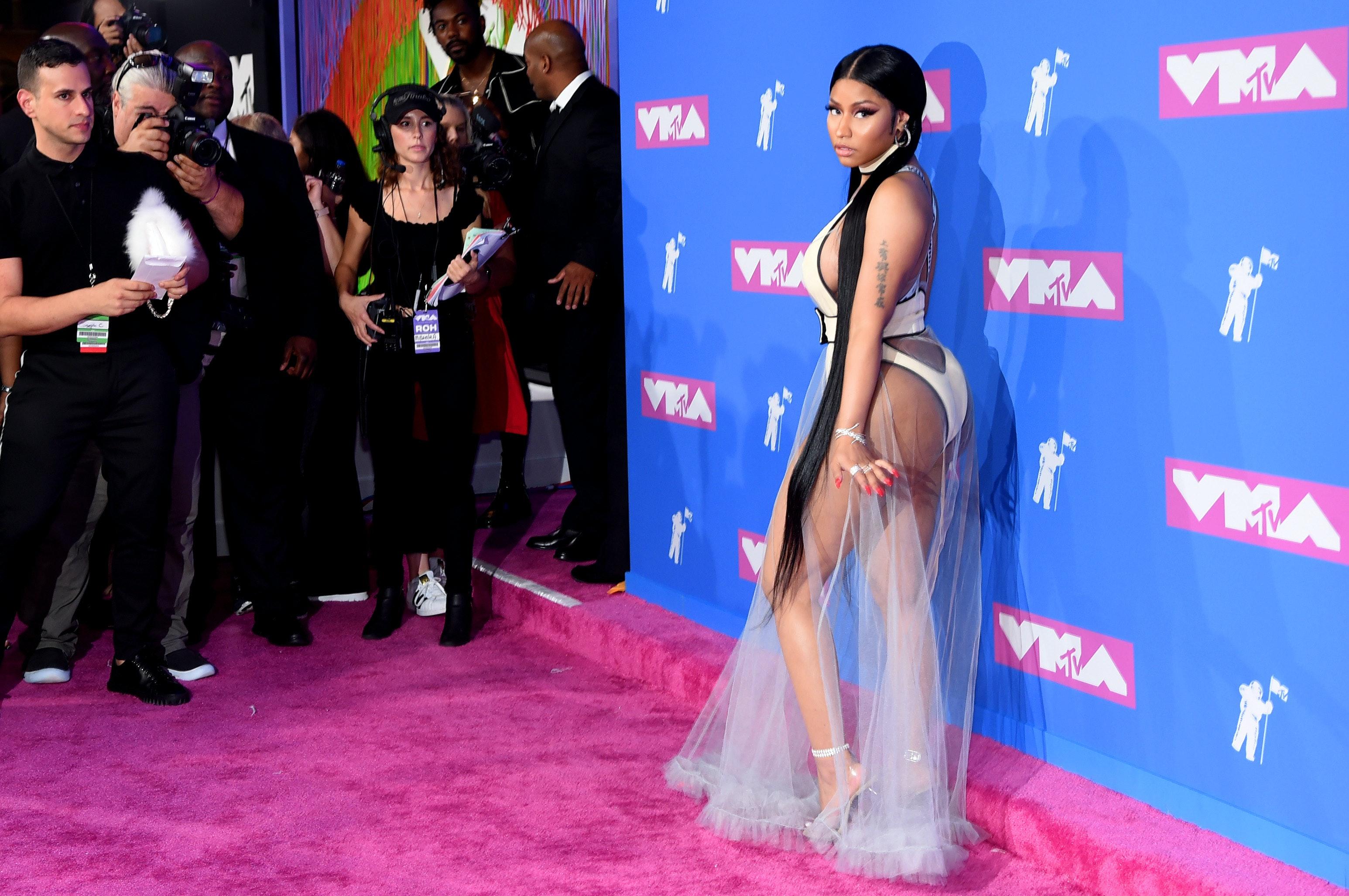Minaj Nicki vma pictures exclusive photo