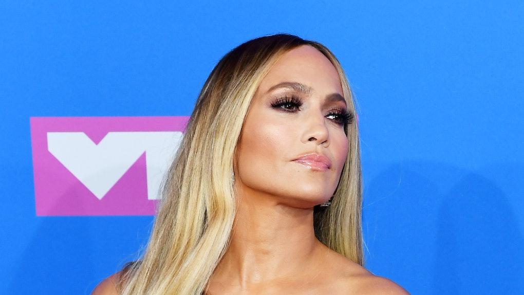 Jennifer Lopez S 2018 Vmas Look Sparkles Brighter Than My
