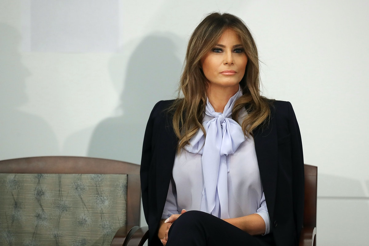 "Melania Trump's Tweet About John McCain's Death Thanked His ""Service To The Nation"""