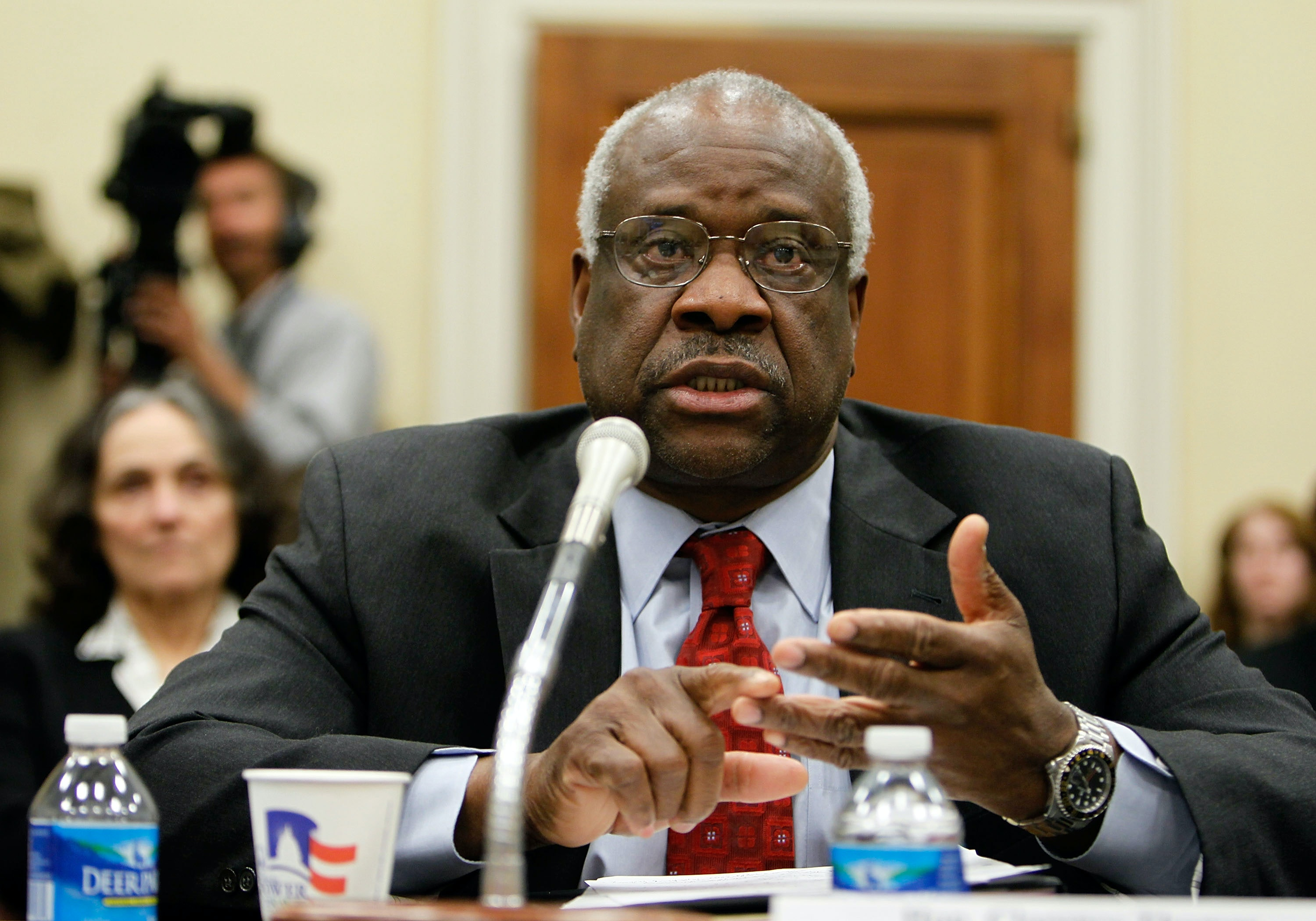 Clarence thomas sexual harassment