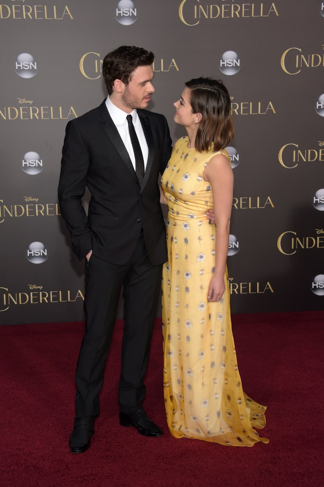 Richard Madden and Jenna Coleman, who dated from 2012 to 2015.