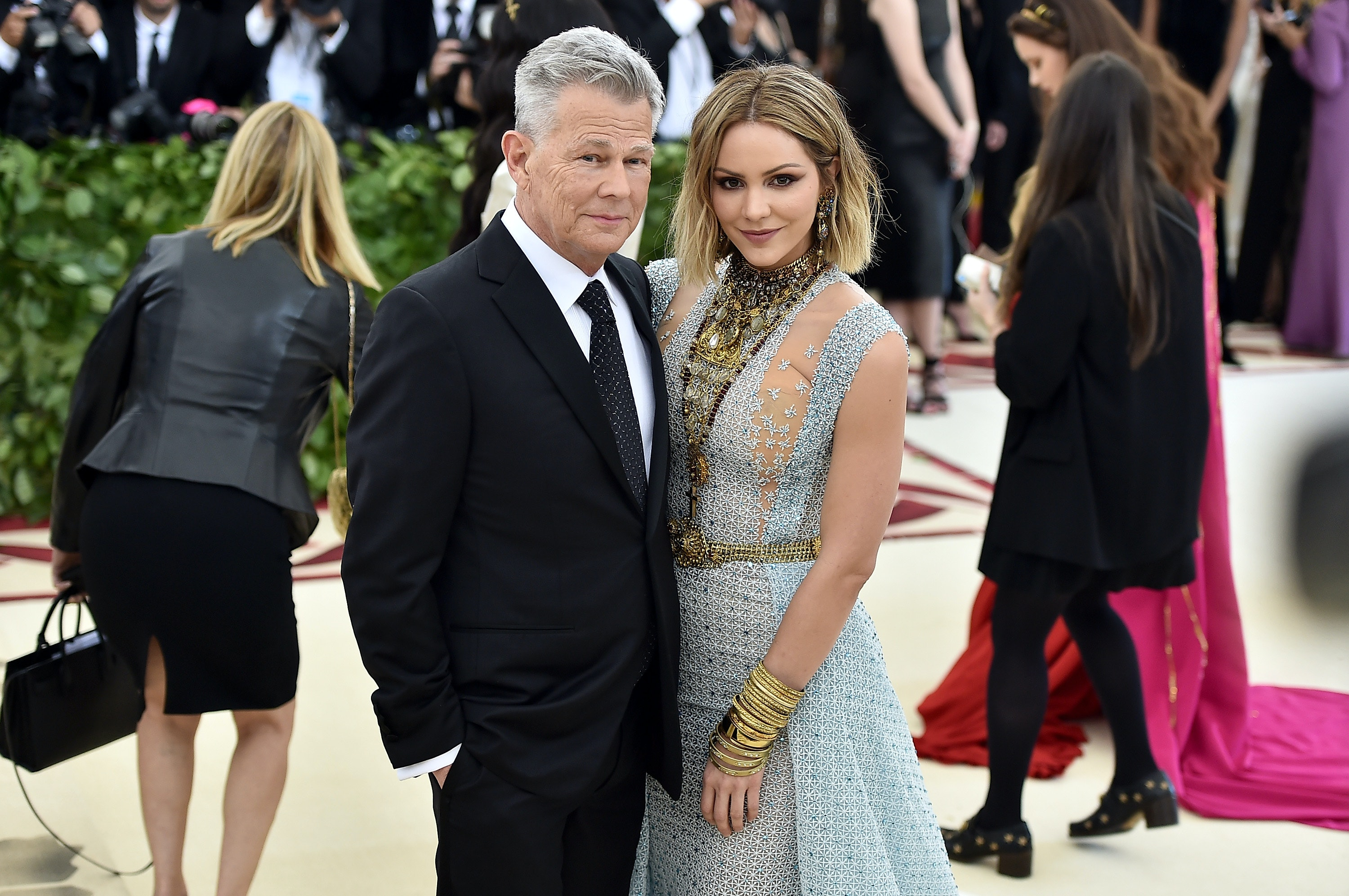 Katharine Mcphee David Foster S Relationship Comments Focus On Happiness Not The Haters
