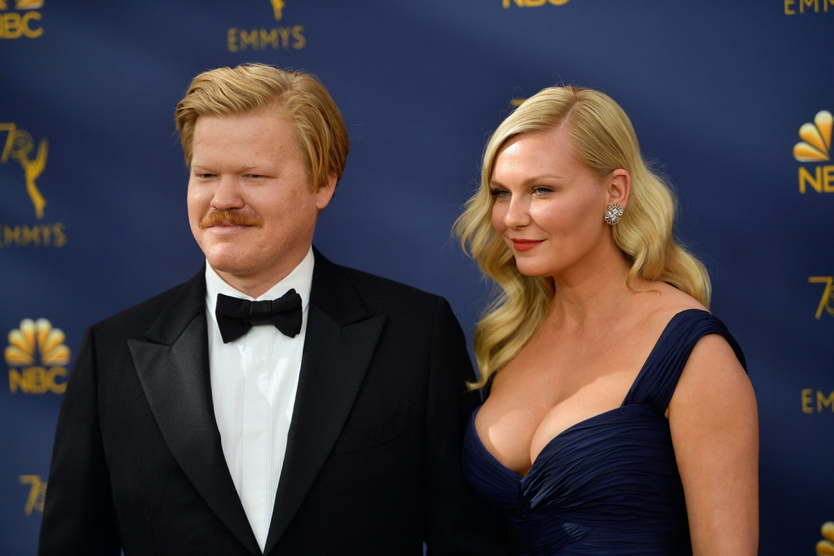 Kirsten Dunst & Jesse Plemons' Photo At The 2018 Emmys Proves They Had An Epic Time