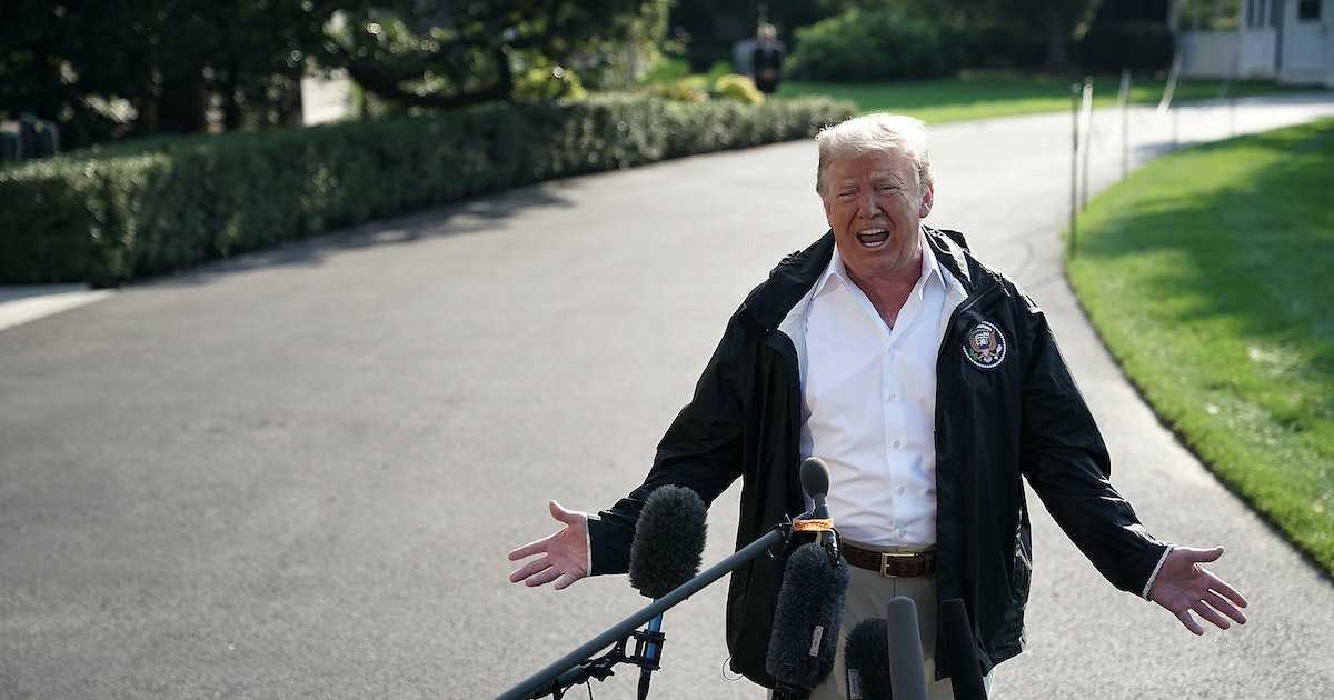Donald Trump's Comment About Hurricane Florence Is His Most Embarrassing Yet