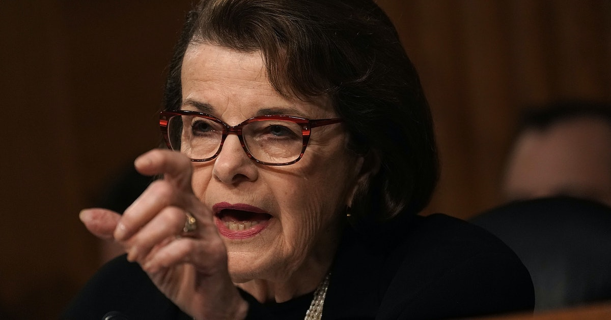 Sen. Dianne Feinstein's Staffers Are Getting Threats Over The Kavanaugh Allegation