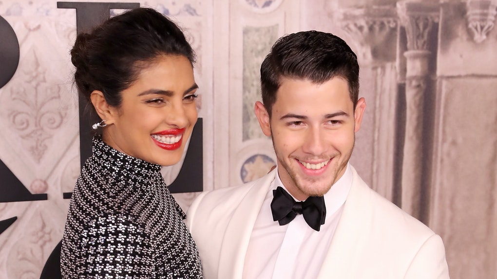 0001797f8b This Photo Of Nick Jonas & Priyanka Chopra In Traditional Indian Garb Shows  Them So In Love