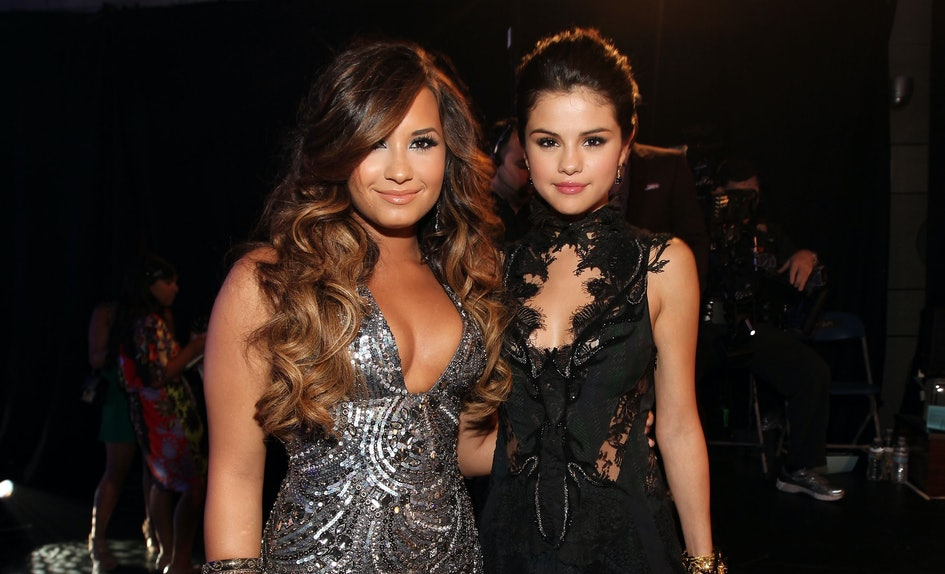 Image result for demi lovato and selena gomez