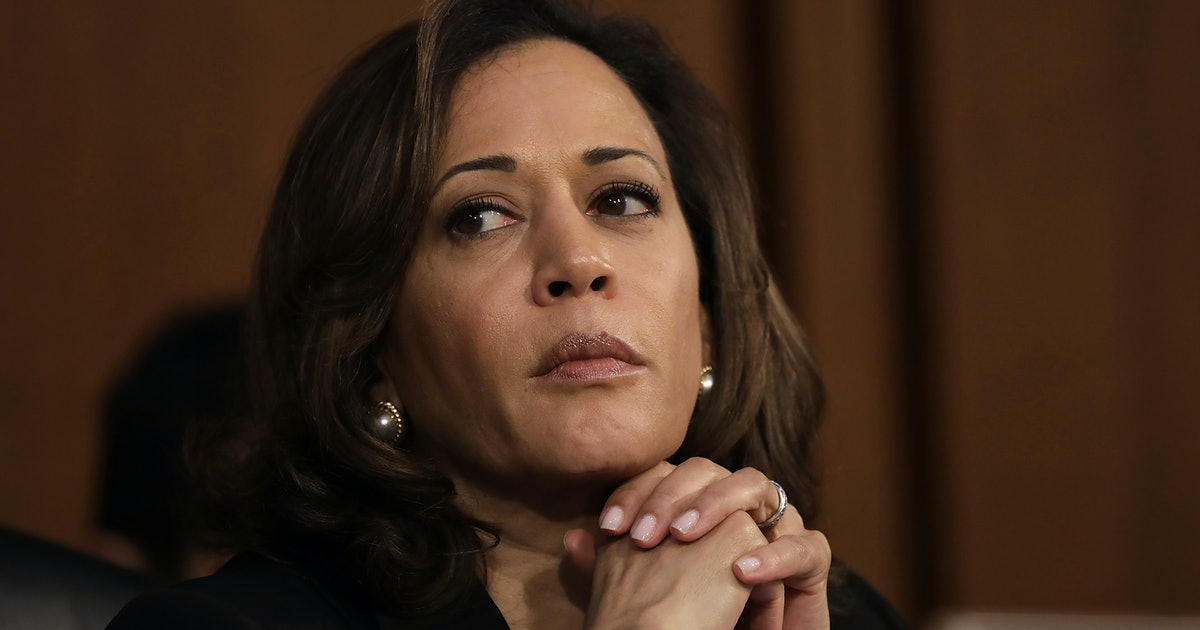 kamala harris abortion questions  kavanaugh