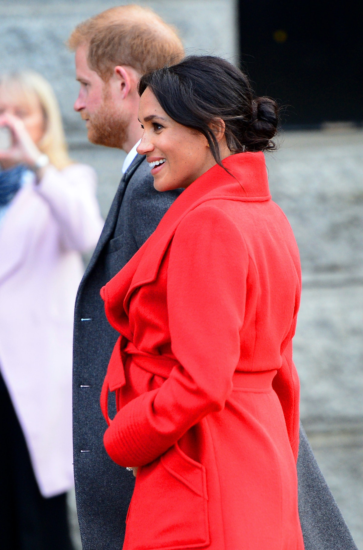 Meghan Markle's Red Winter Coat Looks Familiar Because She's Technically Worn It Before
