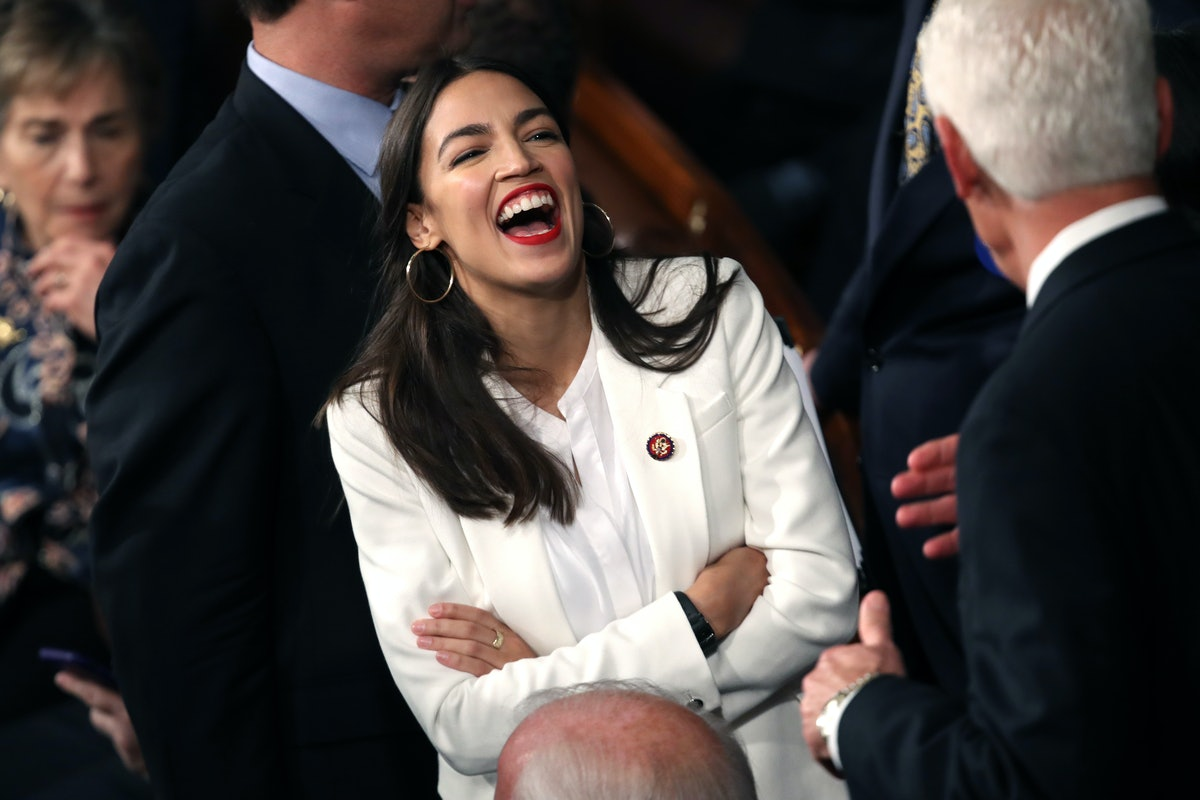 Rep. Alexandria Ocasio-Cortez Wears Press-On Nails Just Like You — And She Posted A Whole Tutorial On Instagram