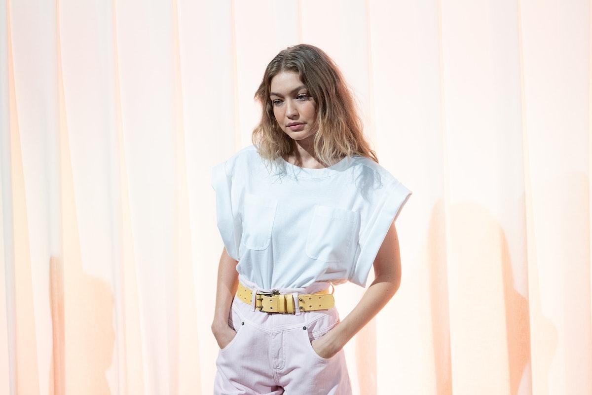 Gigi Hadid Wore Bangs On The Prada Runway & Looked So Different