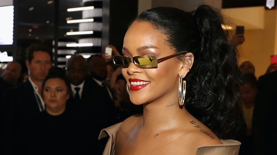 c7de6abbca Is Rihanna Designing Fenty Sunglasses? There Might Be Some Hints Hiding In  Plain Sight