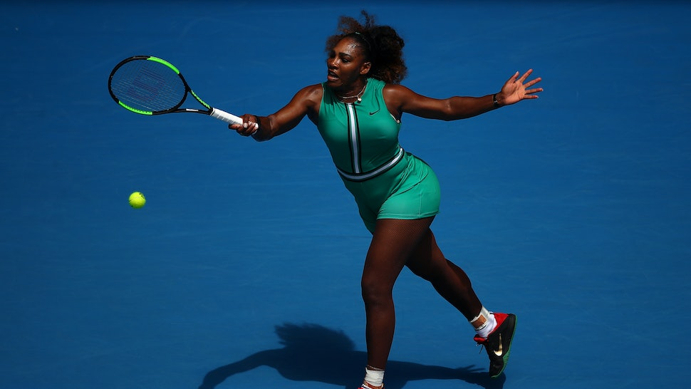 e8c12e27a53 Serena Williams Wore Fishnets On The Tennis Court Because The G.O.A.T. Can  Do No Wrong