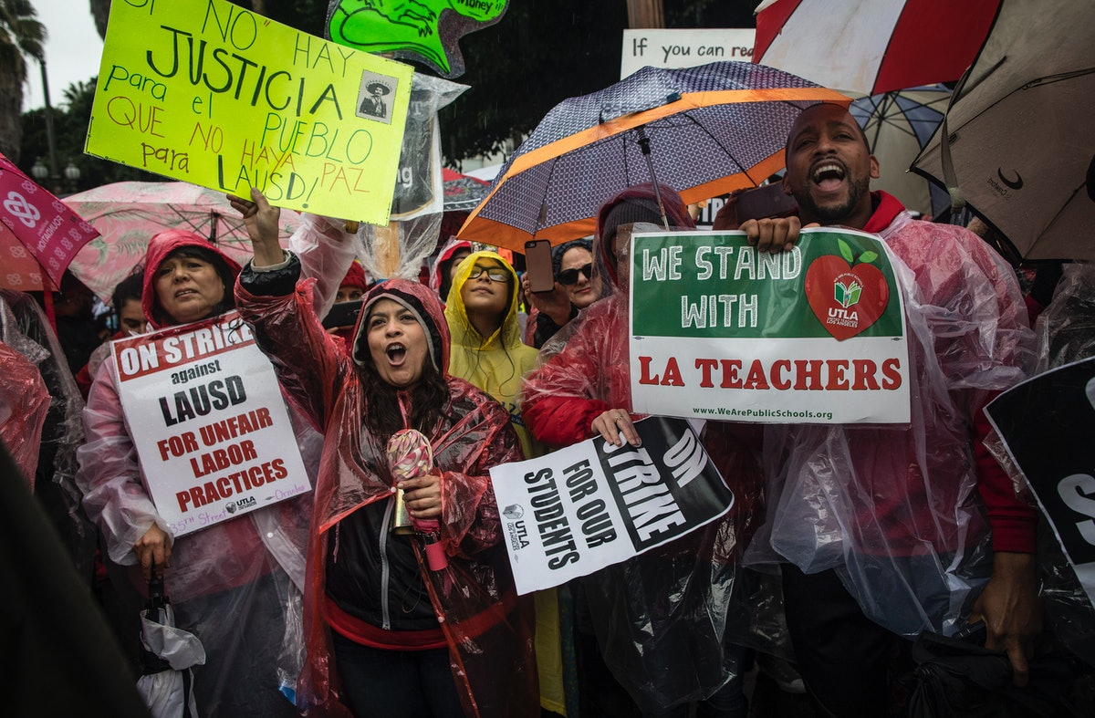 The Los Angeles Teachers' Strike Is A Big Deal — Here's What You Need To Know About It