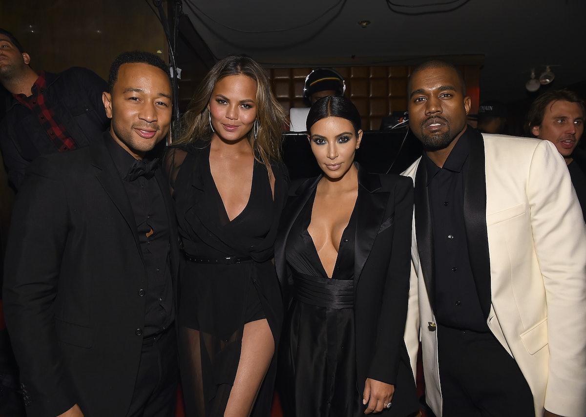 Chrissy Teigen & John Legend's Fight At Kim & Kanye's Wedding Was For A Relatable Reason