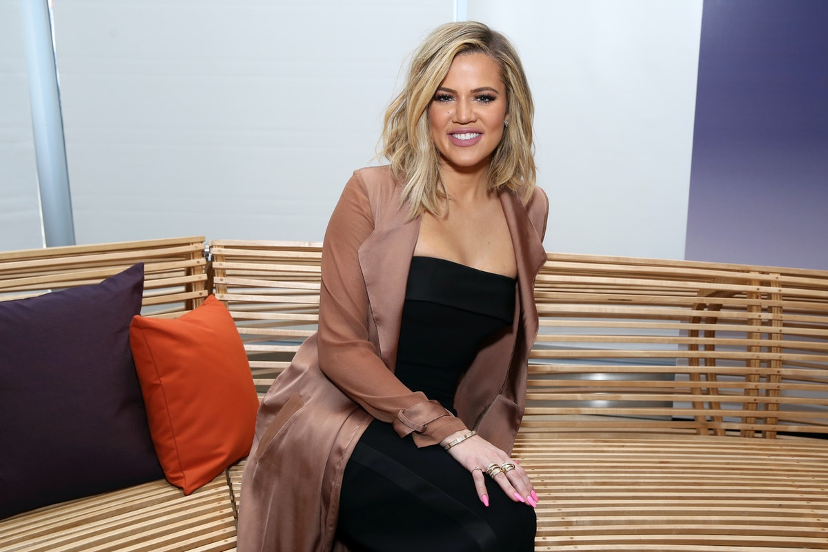 Khloé Kardashian's Daughter Is Already Into Makeup, Which Makes So Much Sense