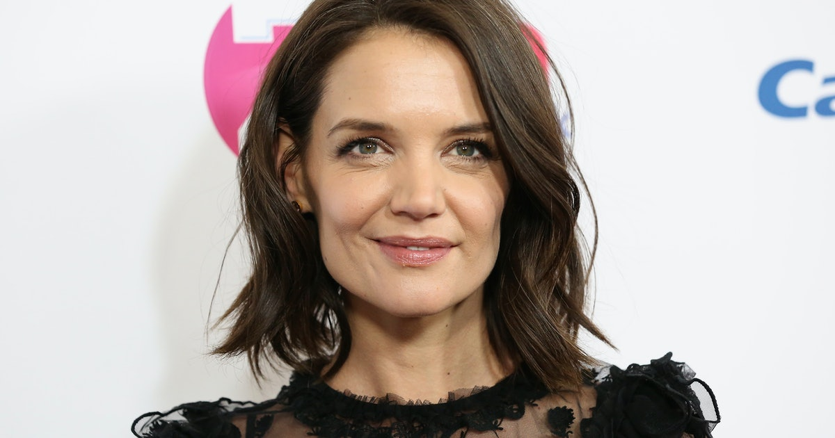 Katie Holmes' Missoni Dress Is Print-Mixing Done Right