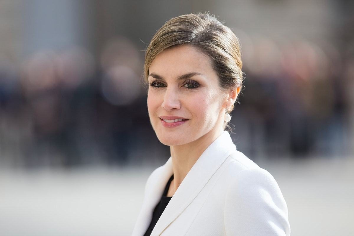 Queen Letizia's Snakeskin Skirt Proves Animal Print Is Here To Stay
