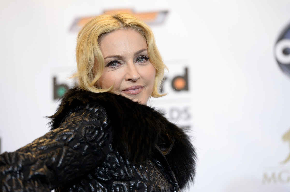Madonna Debuted A Brown Pixie Haircut & Looks So Different