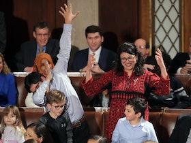 Women Tweeted Photos Of Their Palestinian Thobes To Celebrate Rashida Tlaib