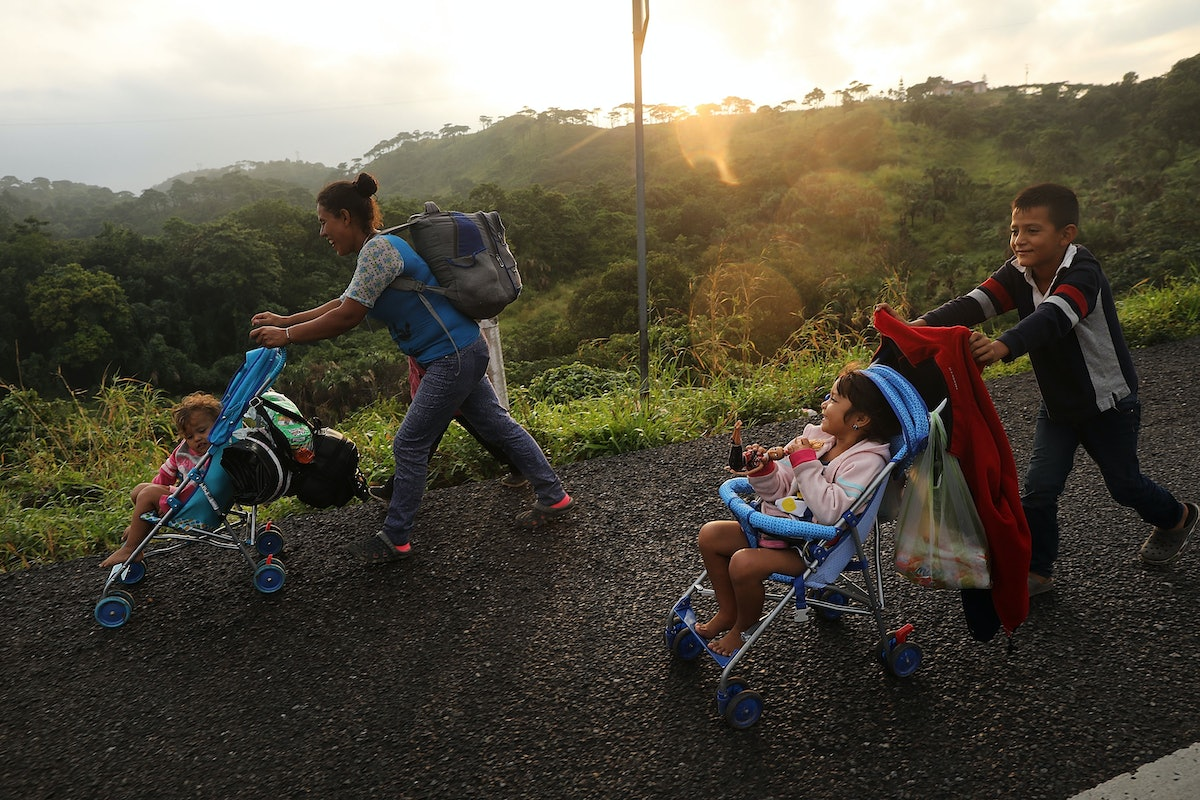 Asylum Seekers' Journey To The US Is Long & Dangerous — Here's What You Need To Know
