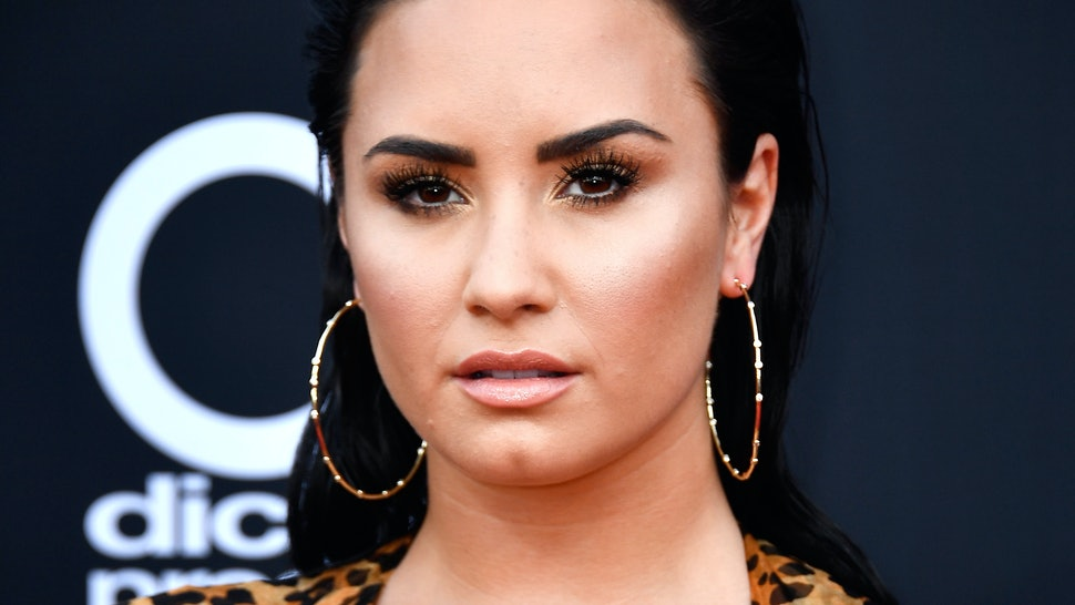 1c0385d25 Demi Lovato's Tattoo Of Her Dog Buddy Is A Sweet Tribute To Her Late Pup