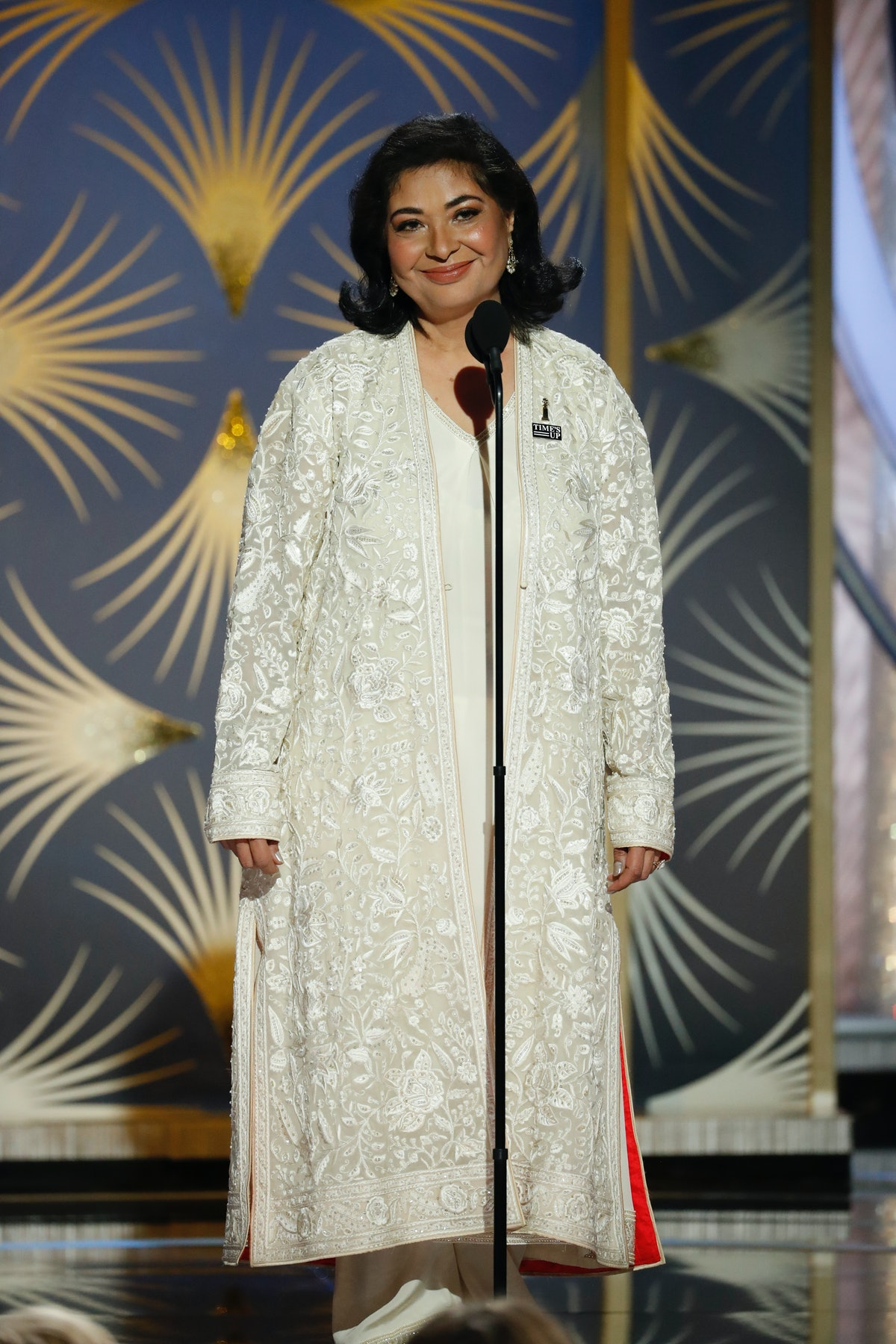 """Hollywood Foreign Press Association President Meher Tatna Wants You To Know The Golden Globes Are More Than Just """"The Fun One"""""""