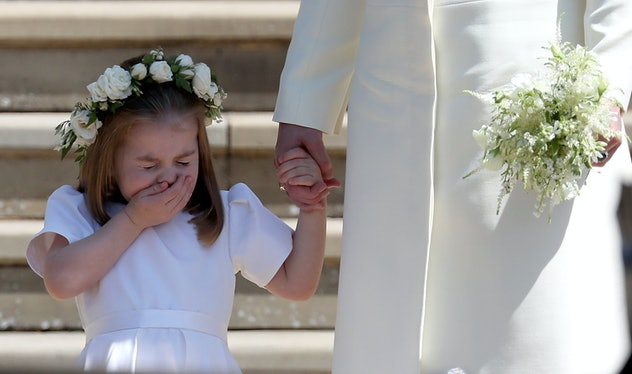 Princess Charlotte At St. George's Church In Windsor Castle