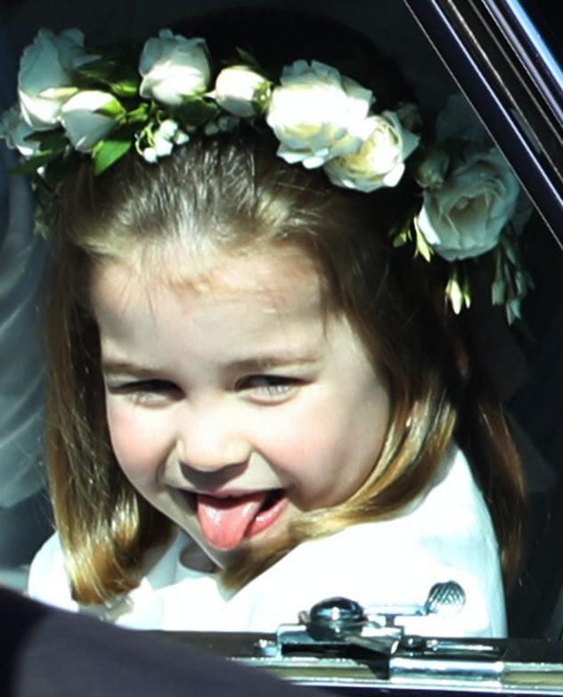 Princess Charlotte Meghan Markle & Prince Harry's Wedding 2018
