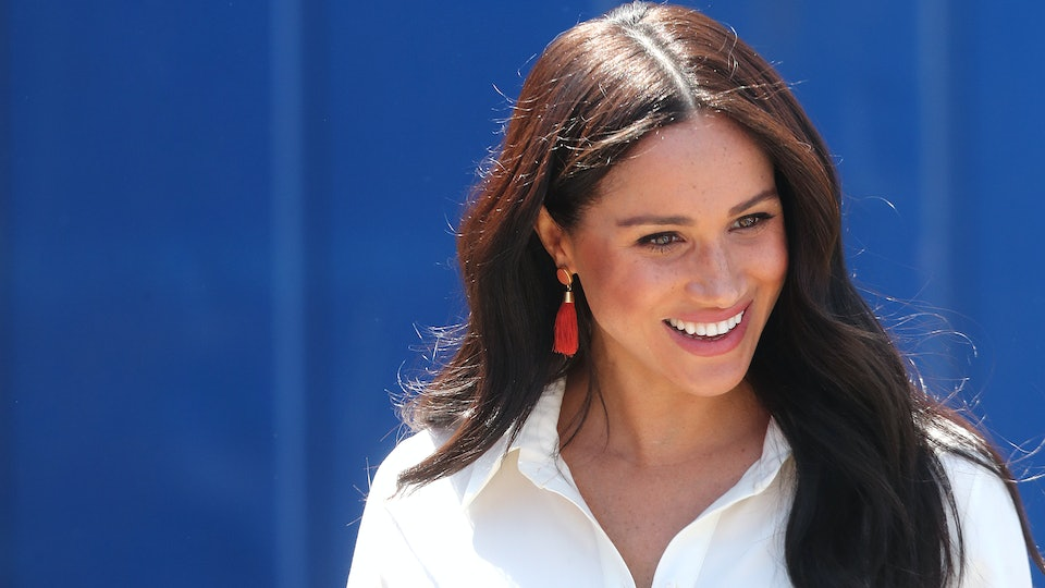 Meghan Markle, photographed on her royal visit in South Africa, has corresponded with a pen pal for two years.