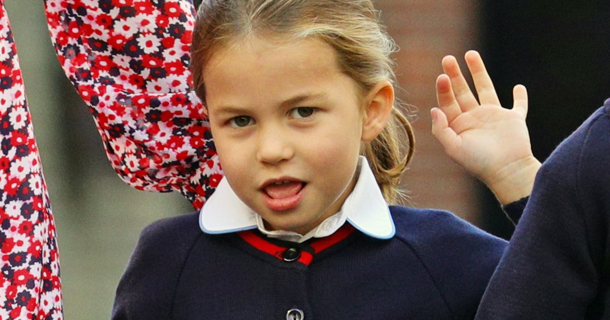 Photos Of Princess Charlotte Being A Total Queen Prove She Needs No Crown