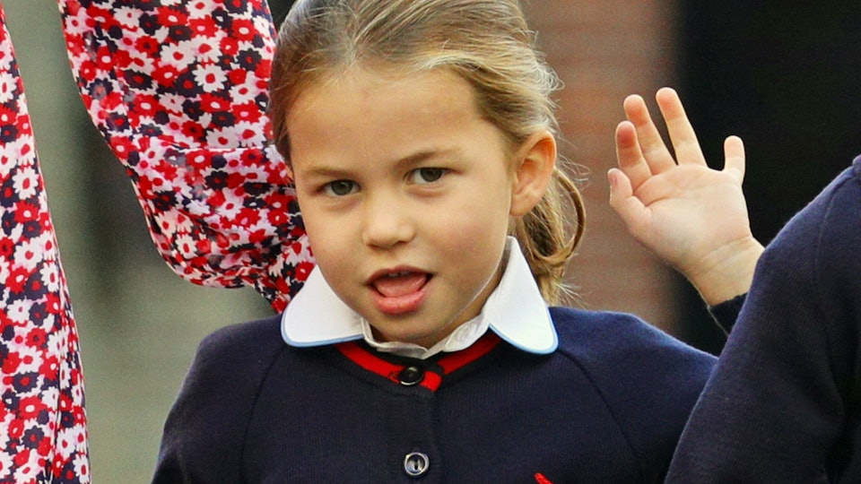 Princess Charlotte's First Day Of School Thomas's Battersea