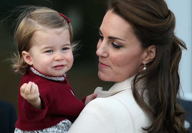 Princess Charlotte Waving 2014