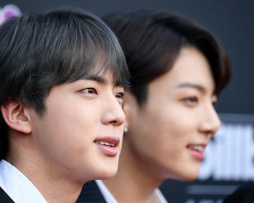 BTS' Jin at the 2019 Billboard Music Awards