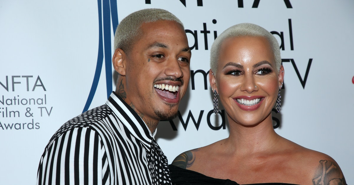 Amber Rose's Baby Name Is Fit For A Rockstar — PHOTOS