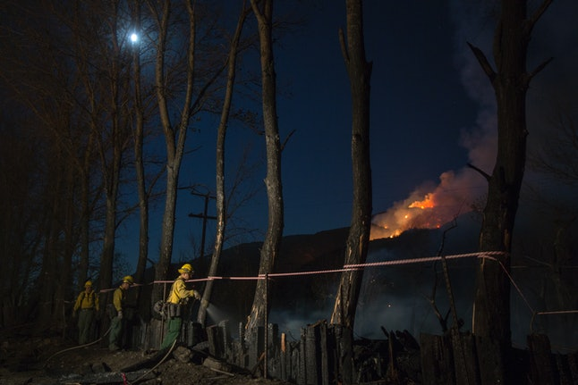 Wildfire threats are prompting some California electrical companies to shut off people's power.