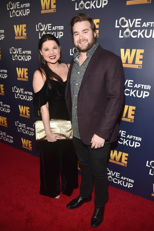 Amy Duggar King on the red carpet with husband Dillon King