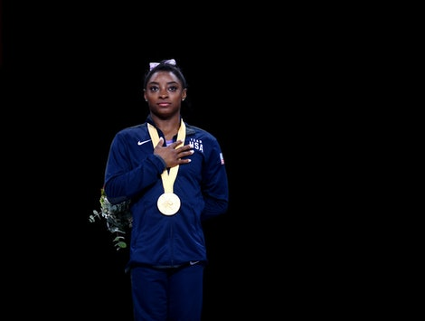 Simone Biles' New Record Her The Most Decorated Gymnast In History