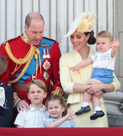 Princess Charlotte, Prince George and Prince Louis don't go trick-or-treating like most kids on the other side of the pond.