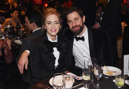 Emily Blunt and John Krasinski support each other at award shows, including the Writers Guild Awards, and beyond.