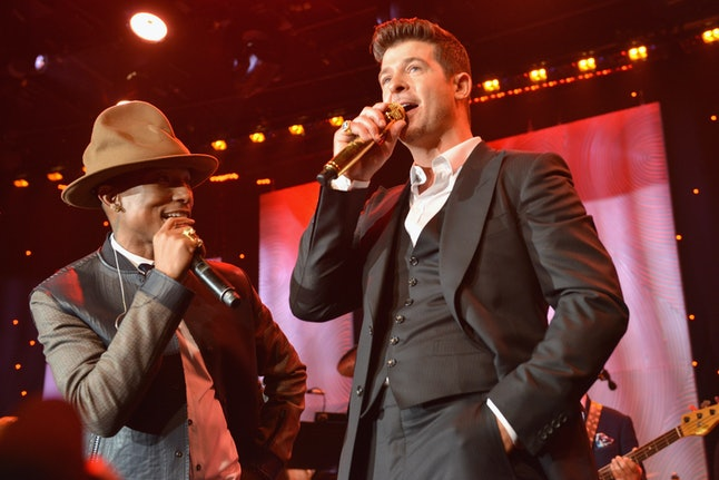 "Pharrell and Robin Thicke's ""Blurred Lines"" caused a huge sexist backlash"