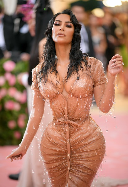 Kim Kardashian West's 2019 Met Gala wet look was inspired by her daughter, North West.