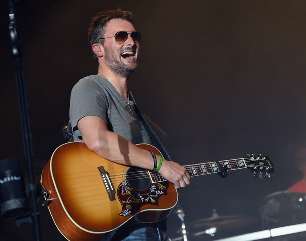 Eric Church with guitar