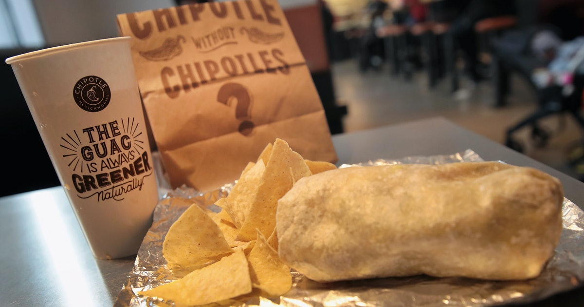 Chipotle's Boorito Deal For Halloween 2019 Means $4 Entrees On Oct. 31