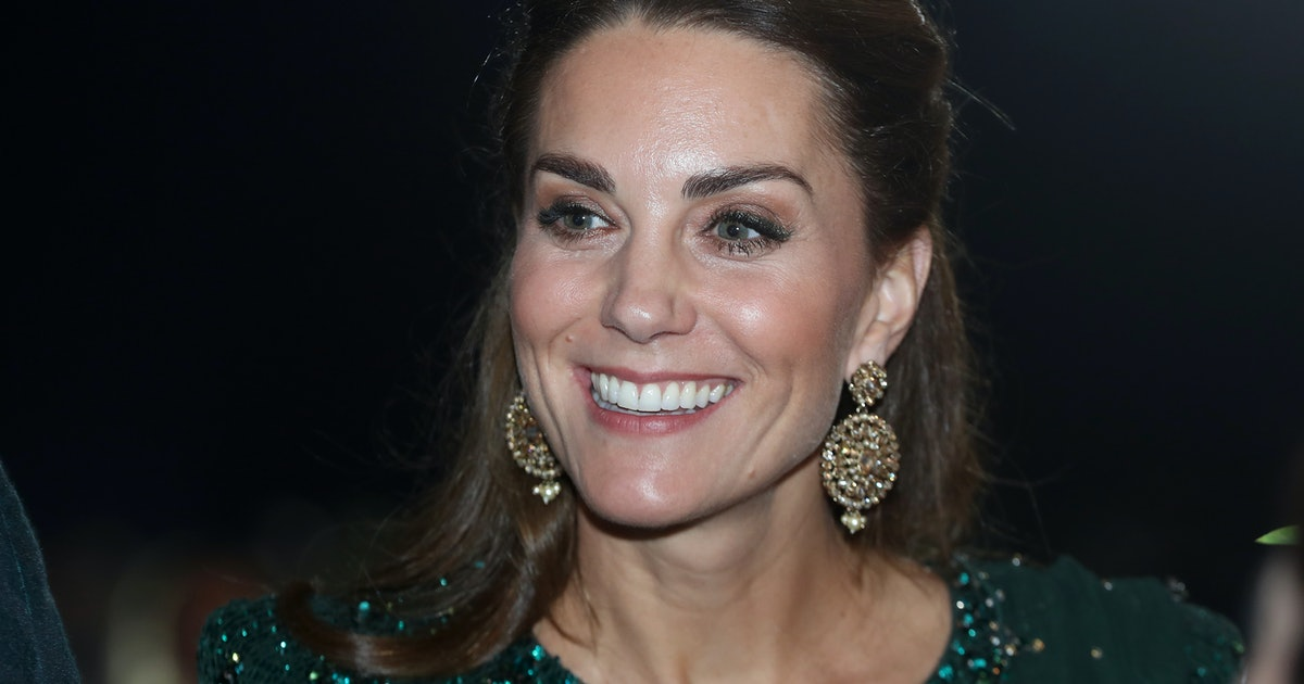 Kate Middleton's Jenny Packham Gown Features Head-To-Toe Sequins