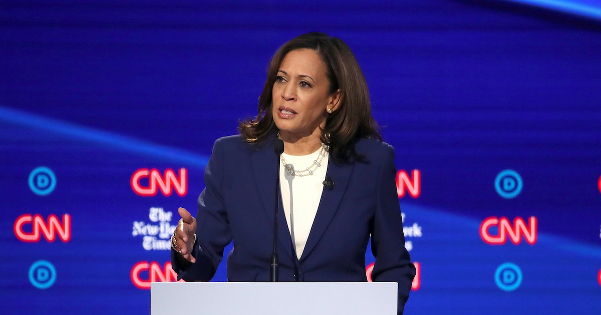 Kamala Harris Forces Reproductive Rights Into The Spotlight At Debate
