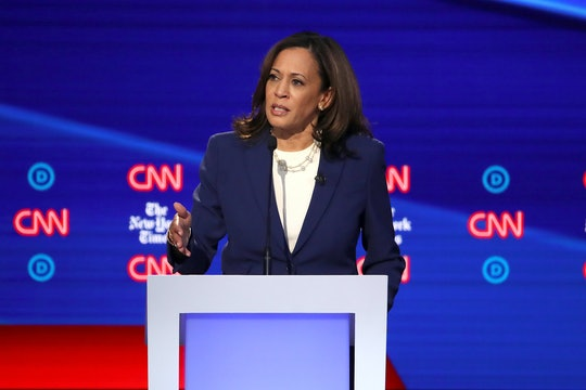 At the fourth Democratic presidential primary debate in Ohio on Tuesday, Kamala Harris forced reproductive rights into the spotlight.